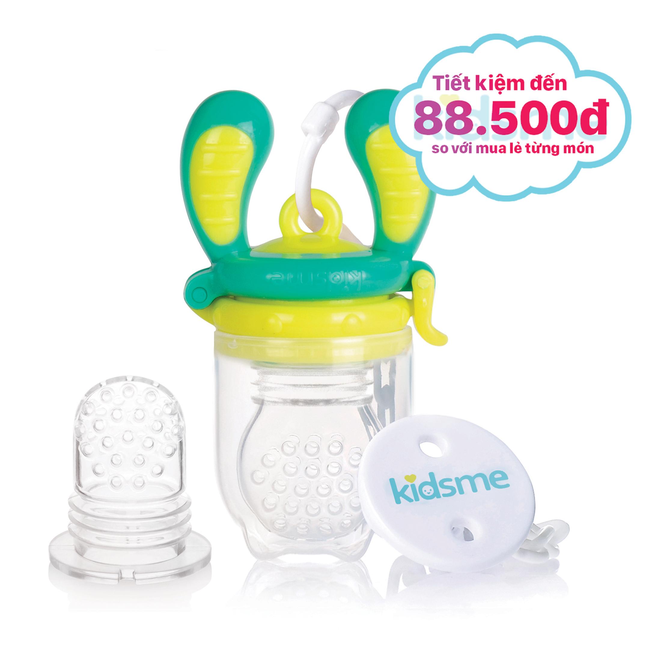 Bộ túi nhai chống hóc  Limited Edition Kidsme