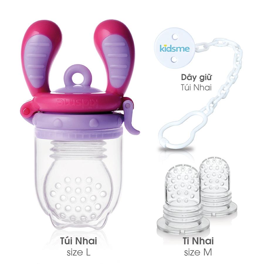 Combo Tiêu Chuẩn kidsme - Cho Bé Gái từ 4 Tháng tuổi