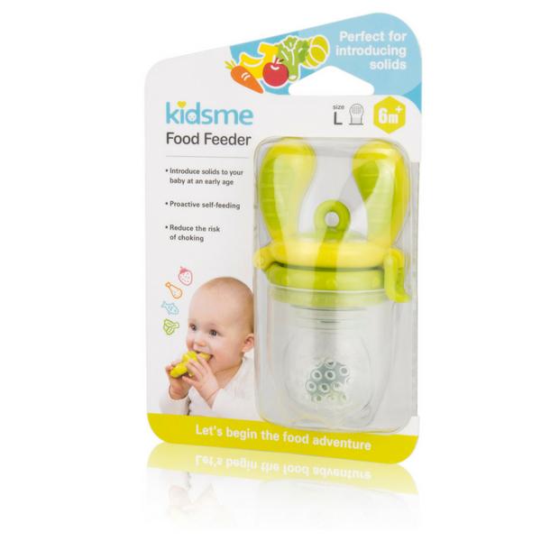 Túi nhai chống hóc L kidsme - màu chanh - Từ 06 tháng tuổi