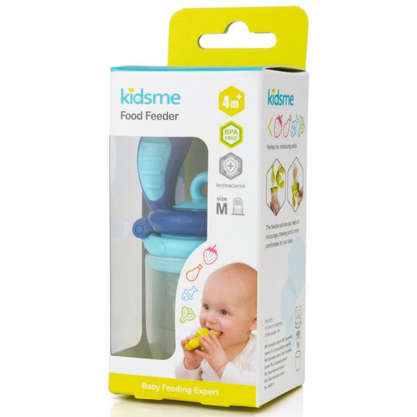 Túi nhai chống hóc M kidsme - màu xanh dương - Từ 04 tháng tuổi